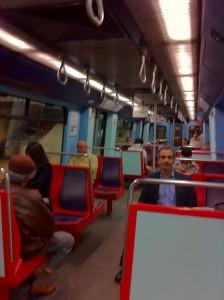 【上はポルト、 下はリスボンの地下鉄】