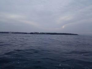 城ヶ島沖写真