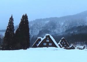 ①冬の白川郷