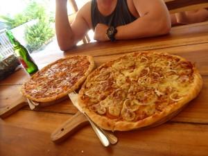 M 本格的なピザ