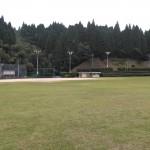 城山運動公園には夜間照明のある球場が 2面あります.