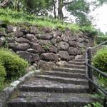 400年前の石垣です。現在に残っているだけでも凄いです。