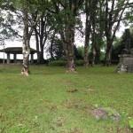 松尾城の本丸があった場所